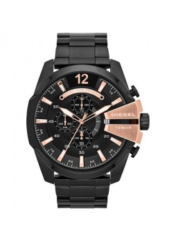 DIESEL Chief Chronograph Black Dial Stainless Steel Men's Watch DZ4309