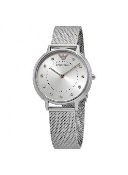 EMPORIO ARMANI Women two-hands stainless steel watch AR11128