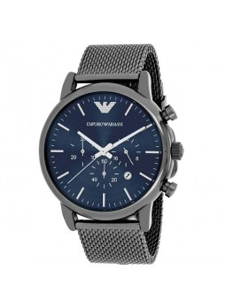 EMPORIO ARMANI Men Stainless Steel Cronograph Watch AR1979