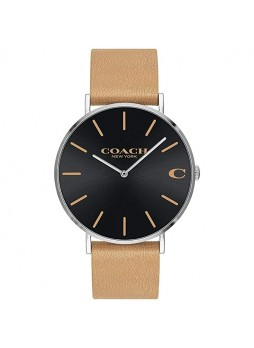 COACH Charles Camel Men's Watch