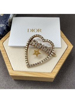 Dior J'Adior Laurier Retro Letter Hairpins